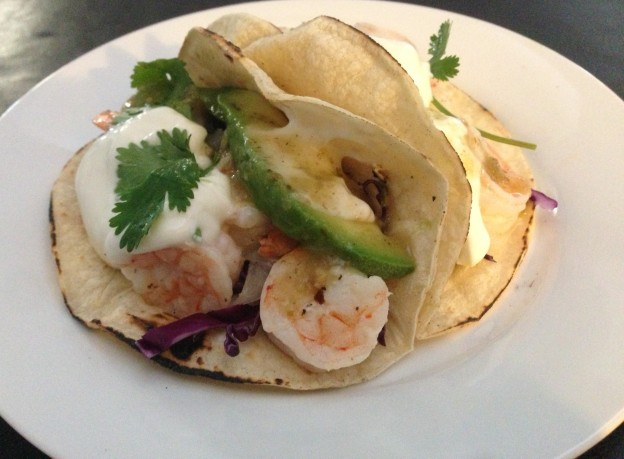 Brandy's Shrimp Tacos